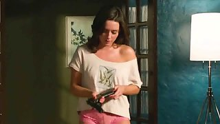 Addison Timlin Cameltoe In Lace Panties From Odd Thomas