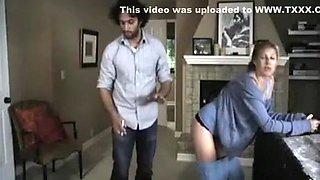 Horny homemade MILFs, Brunette porn clip
