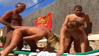XY OUR FIRST VACATION AT SWINGER RESORT HD