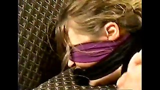 Masked man tiedup and fuck housewife