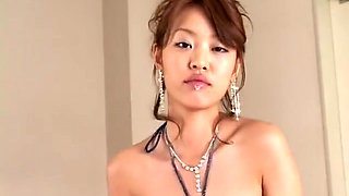 Striking Asian beauties getting hot sperm all over their pretty faces