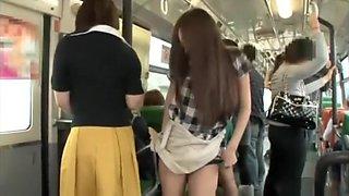 Lesbian bus molesters