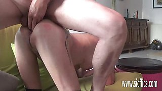 Hard Double fisting and dildo fucking her holes