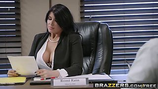 brazzers - big tits at work - pressing news scene starring r