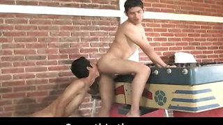 Gay clip Mexican twinks go gay bareback
