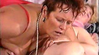 German mother & not her daughter 80s