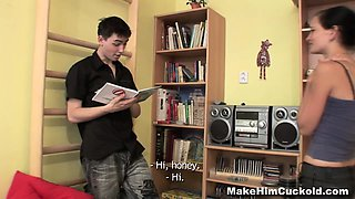 Make Him Cuckold - Unfaithful guy punished by a girlfriend