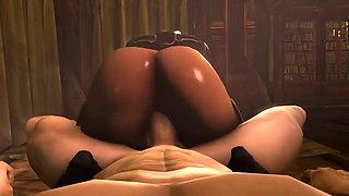 Dark Elf Slut with Big Juicy Ass - POV 3D Hentai