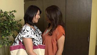 Mature Asian lesbian lovers