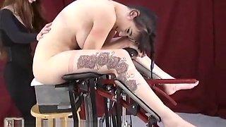 Bondage orgasm machine