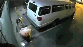 Drunk girl takes a long pee