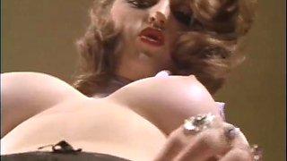 retro vintage big cock natural tits cumshot facial lingerie