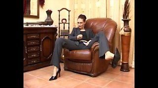 Mistress in high heels joi
