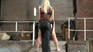 bdsm mistress crystel in the Domina factory crazycezar