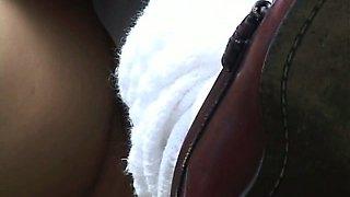 Pubic Hairs And Upskirt Panties