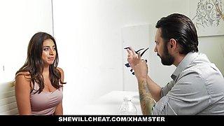 SheWillCheat- Busty Slut Ella Knox Fucks Her New Boss