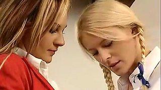 Men in Suits - School Girl Gets Caught Giving Head, Her punishment is..