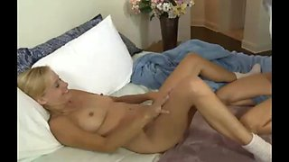 Milf and younger lesbian seduction