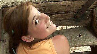 Horny pornstar Alexis Crystal in hottest pov, redhead sex clip
