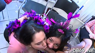 these girls go crazy amateur segment 9