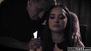 hung Priest Takes Advantage Of A Desperate Bride