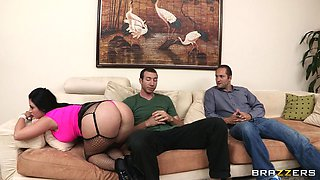 Sophie Dee Has Her Ass Spanked By Jordan Ash
