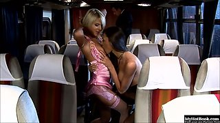 Angelika Black are always looking for an excuse to board the sex bus