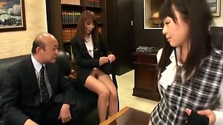 Incredible Japanese model Megumi Shino, Sae Aihara, Imai Natsumi in Hottest Secretary, Creampie JAV movie