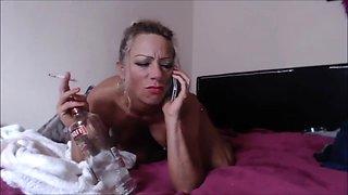 Drunk slut booty call