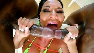 Monster cock DP with Jasmine Jae