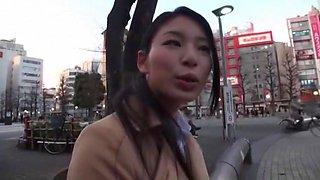 Amazing Japanese girl Kanon Takigawa, Natsume Inagawa, Riko Miyase in Exotic Public JAV movie