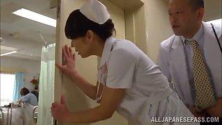 horny doc & nurse in asian hospital
