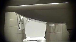 Cuisine Chef Toilet Spy