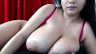 emo girl with big titties enjoying her pussy