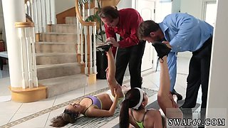 partners step daughter and seduce dad The Stretch And Swap