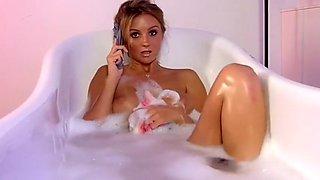 Dionne Daniels bath time