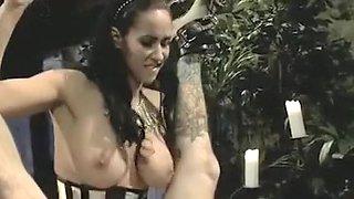 Horny homemade Femdom, Big Tits porn scene