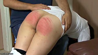 Schoolgirl 3 spanking