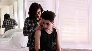 Real teen ally's sister Teach My Girlplaymate How To Fuck
