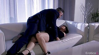 Incredible missionary pussy wrecking with lustful Alison Rey