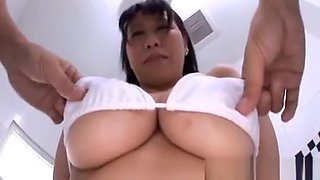 Japanese Flashes The Big Milk Shakes Previous To Fucking