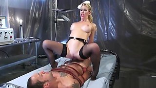 Bitch Cherie Loves to Dominate Her Man