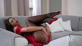 natalia forrest in & out of pantyhose - hd!