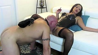 Best Mom Mistress Slave Oral. See pt2 at goddessheelsonline