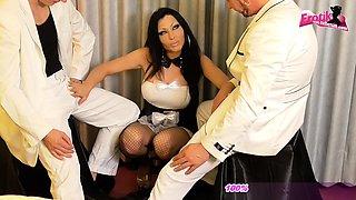 German amateur latina maid want anal threesome