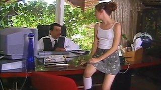 Innocent Looking Anne Howe In Sensual Sex Scene.
