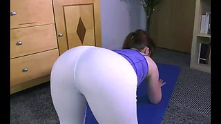 Sister Gets Fucked After Yoga