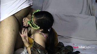 Hot Indian Couple Fucking Seducing In XXX Porn Video
