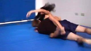 Natasha Andy Flamingo Wrestling Part 2