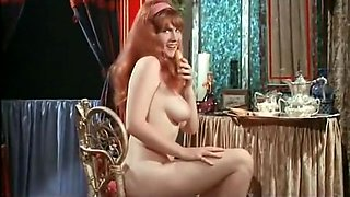 Busty Redhead Girls Hairy Cunt Fucked in Bed